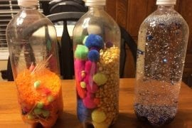 Baby and Toddler Sensory bottles